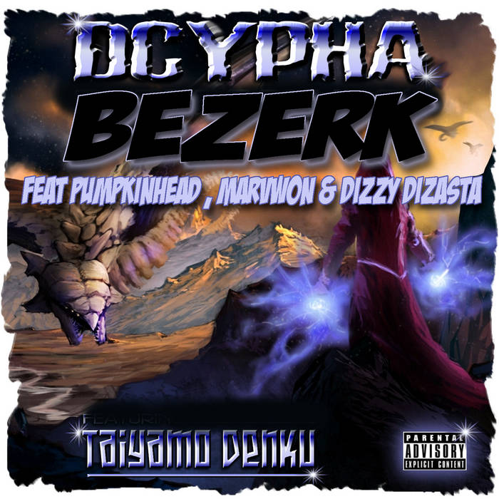 BERZERK ( FEAT PUMPKINHEAD , MARVWON & DIZZY DIZASTA ) cover art