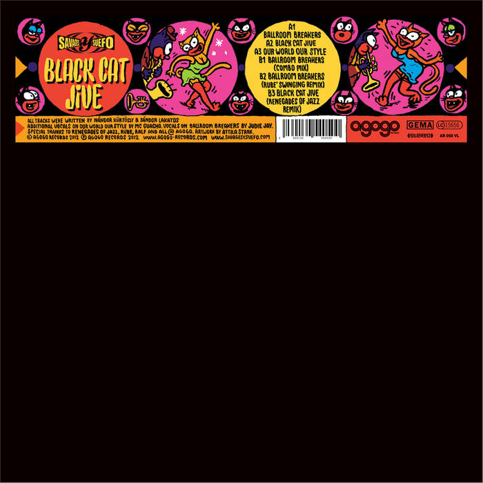 Black Cat Jive cover art