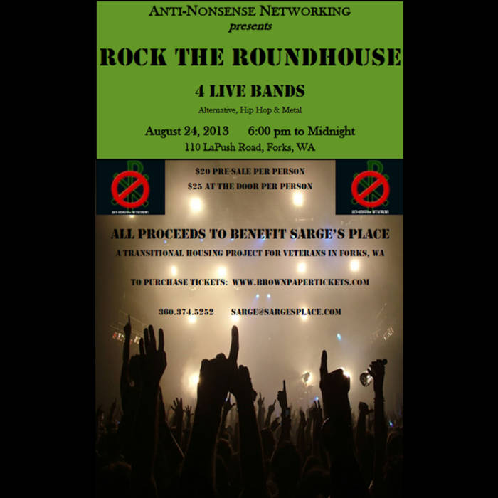 ANN Rock The Roundhouse 2013 cover art