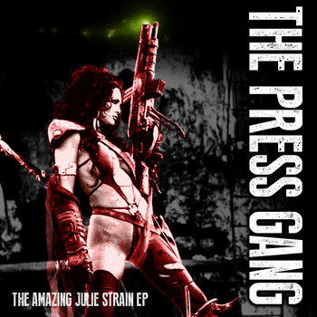 The Amazing Julie Strain EP cover art