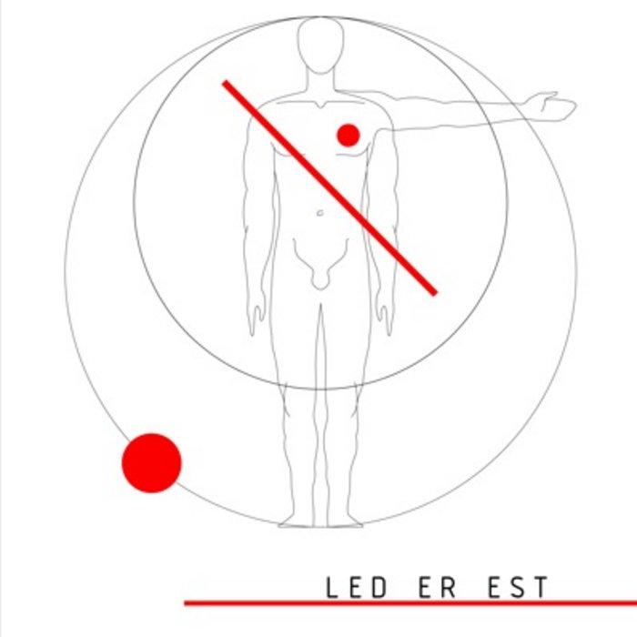 MNQ 012 Led Er Est / Ancien Régime 12'' EP Split cover art