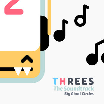 Threes OST cover art