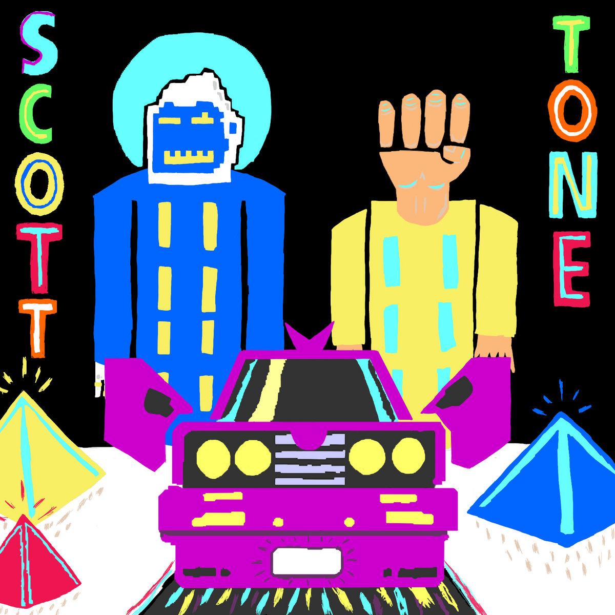 album cover for Scott Thorough & Tone Tank's album Scott & Tone