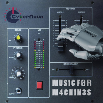 MUSIC FOR MACHINES EP cover art