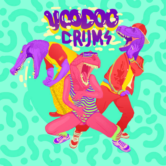 Voodoo drums (curado x Pa Kongal - Cassette blog 5to aniversario) cover art