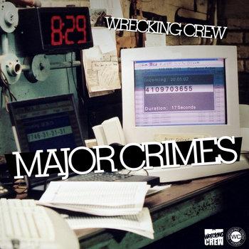 Major Crimes EP cover art