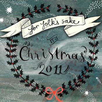 For Folk's Sake It's Christmas 2011 cover art