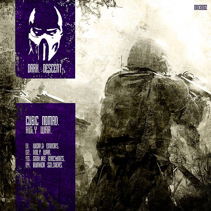 Cubic Nomad - Holy War cover art