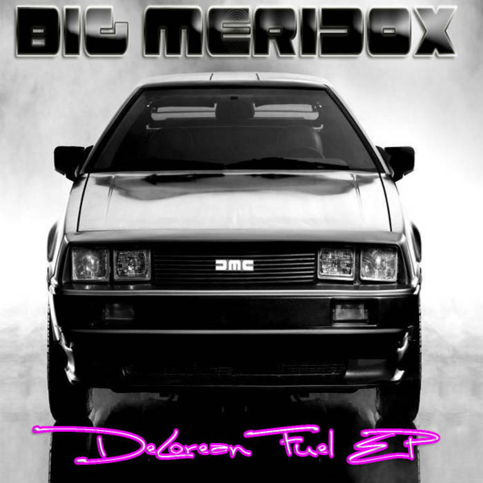 Delorean Fuel EP cover art