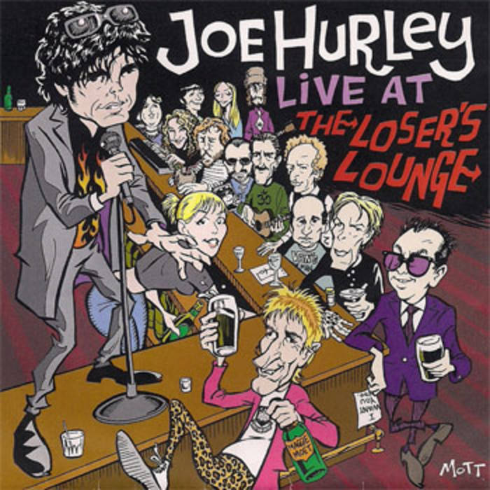 Joe Hurley Live At The Loser's Lounge cover art