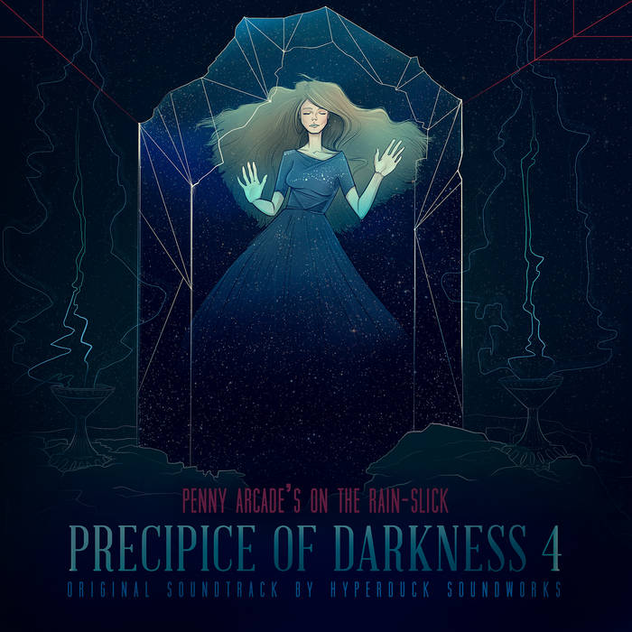 Penny Arcade's On The Rain-Slick Precipice Of Darkness 4 OST cover art