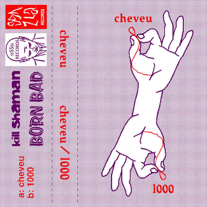 CHEVEU (2006) / 1000 (2010) cover art