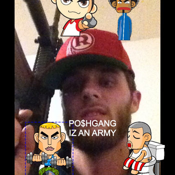 POSHGANG IZ AN ARMY cover art