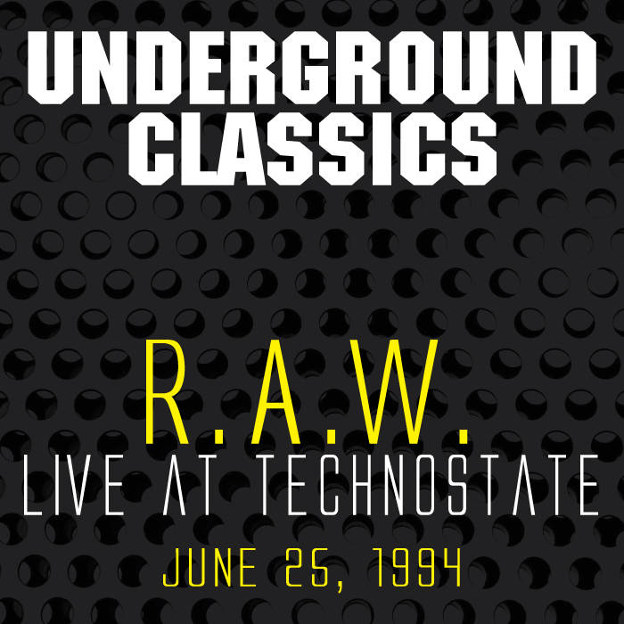 Live at TechnoState June 25, 1994 cover art