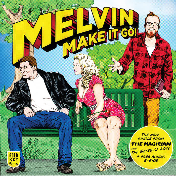 Melvin, Make It Go! cover art