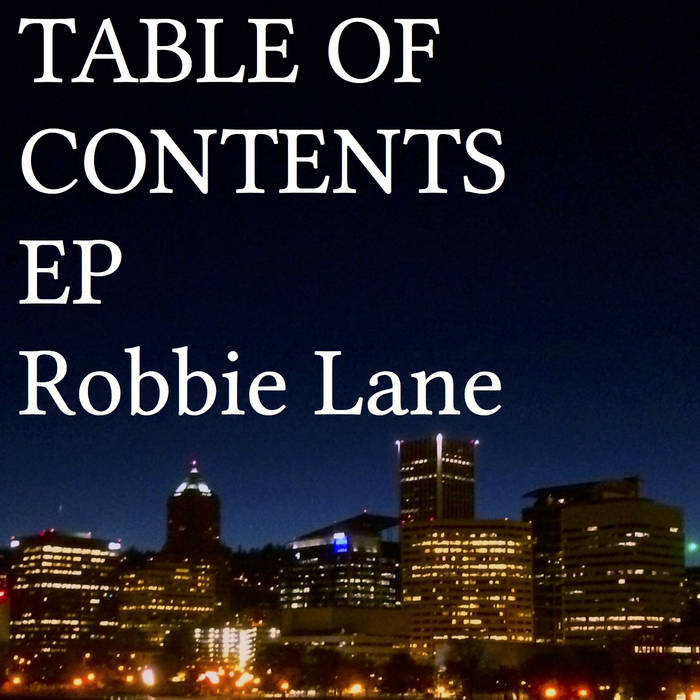 Table of Contents EP cover art
