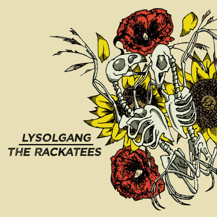 """7"""" SPLIT with LYSOLGANG cover art"""