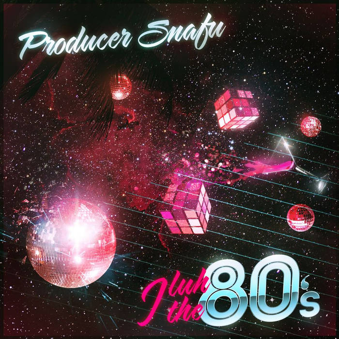I Luh The 80's cover art