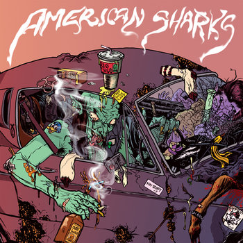 AMERICAN SHARKS cover art