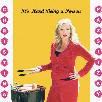 It's Hard Being A Person cover art