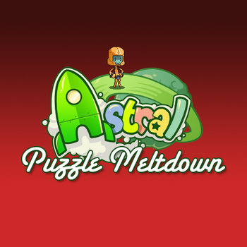 Astral Puzzle Meltdown OST cover art
