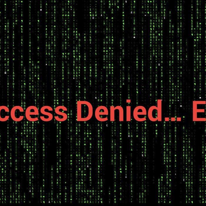 Access Denied... EP cover art