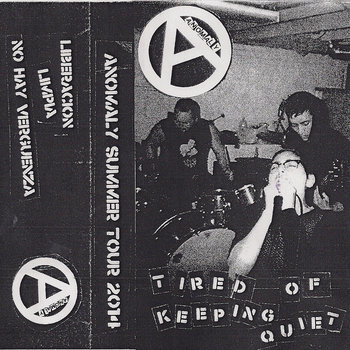 Tired Of Keeping Quiet Summer Tour 2014 cover art