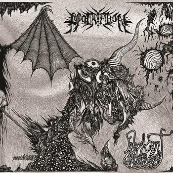 Apocryphon/Fabricant Split EP cover art