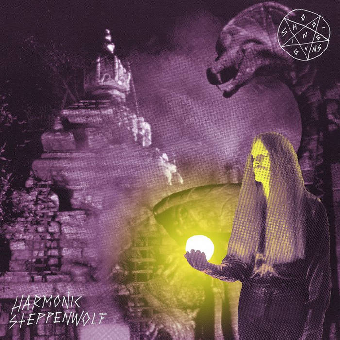 "Harmonic Steppenwolf/Dopestrings 7"" cover art"