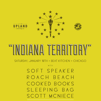 "Brooklyn Brewery x Upland Brewing Co. Present: The ""Indiana Territory"" Mix Tape cover art"