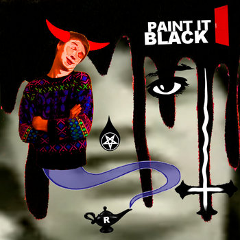 Paint It Black (The Rolling Stones) cover art