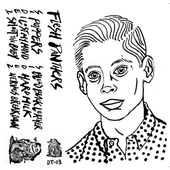 Flesh Panthers S/T cover art