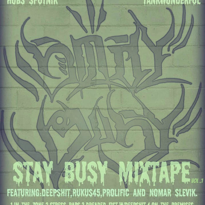 The Perfect Color Combination - Stay Busy Mixtape Vol. 1 cover art