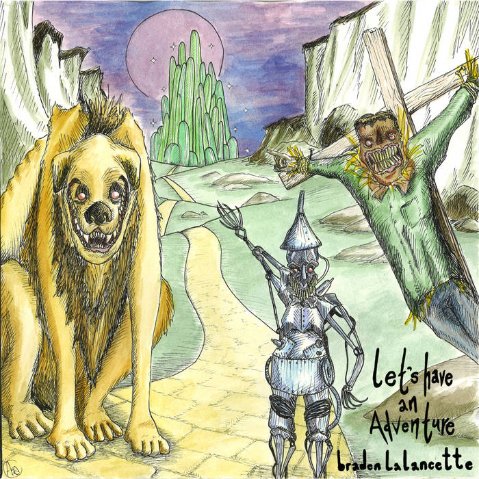 Let's Have an Adventure cover art