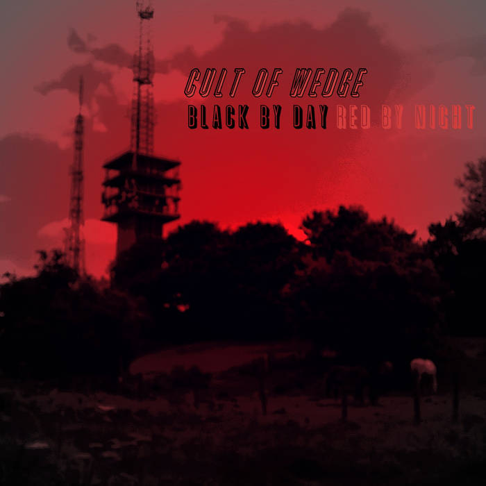BLACK BY DAY, RED BY NIGHT cover art