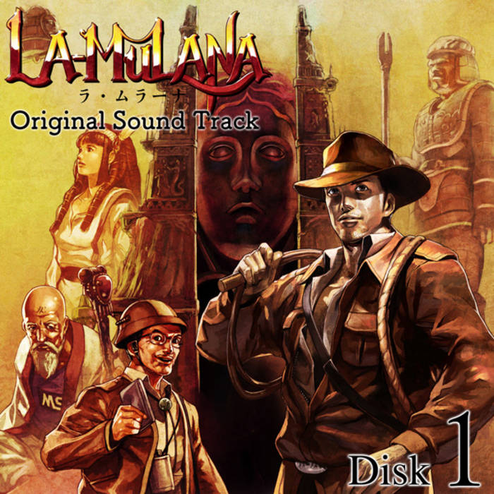 La-Mulana Original Sound Track Disk1 cover art