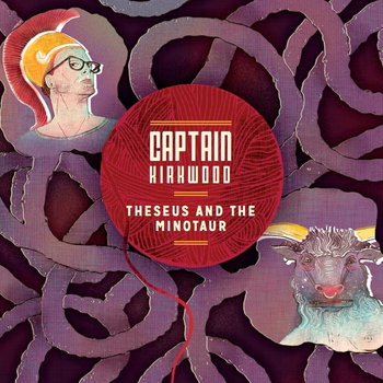 Theseus and the Minotaur cover art