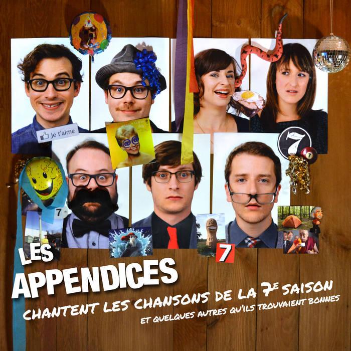 Les Appendices chantent les chansons de la 7e saison et quelques autres qu'ils trouvaient bonnes cover art
