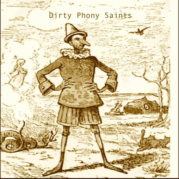 Dirty Phony Saints Acoustic cover art