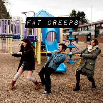 FAT CREEPS/ZEBU! SPLIT cover art