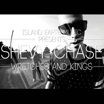 "Shevy Chase ""Wretches and Kings"" cover art"