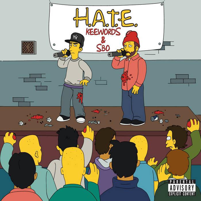 H.A.T.E. cover art