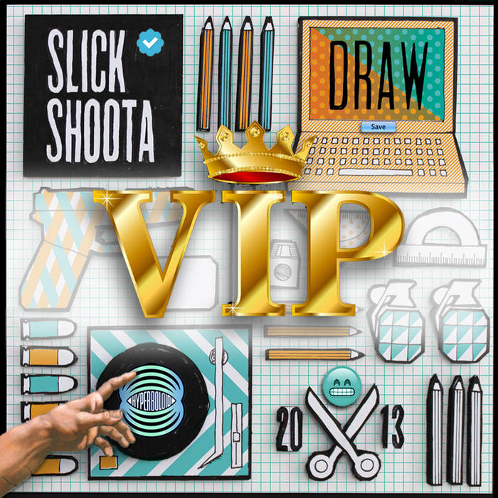 Draw VIP cover art