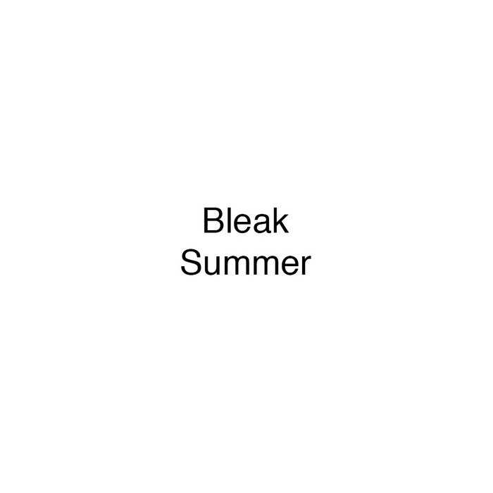Bleak Summer (demo) cover art