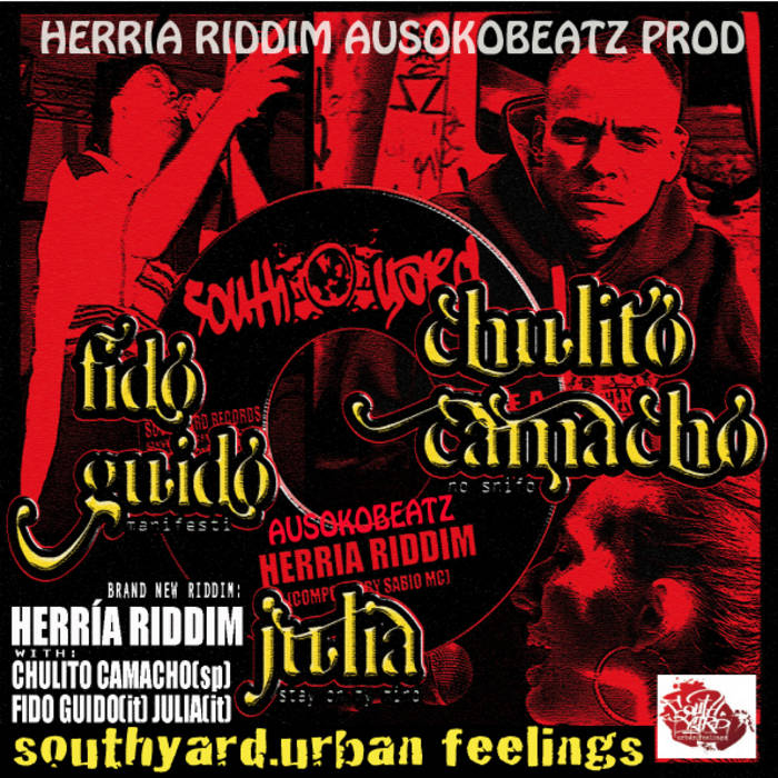Herria Riddim EP (SouthYard Records) cover art