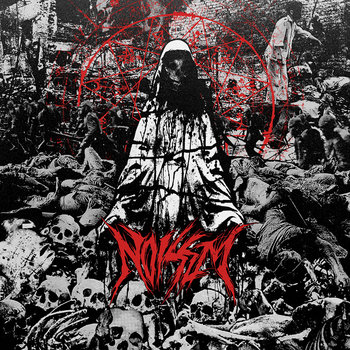 "(A389-128) NOISEM 'Agony Defined' 12""/CD cover art"