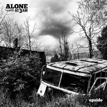 "Ampline/Alone At 3AM Split 7"" (EU Only) cover art"