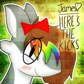 Here's The Kicks EP cover art