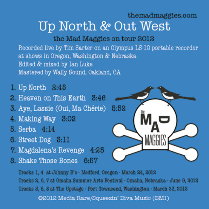 Up North & Out West (live recording) cover art