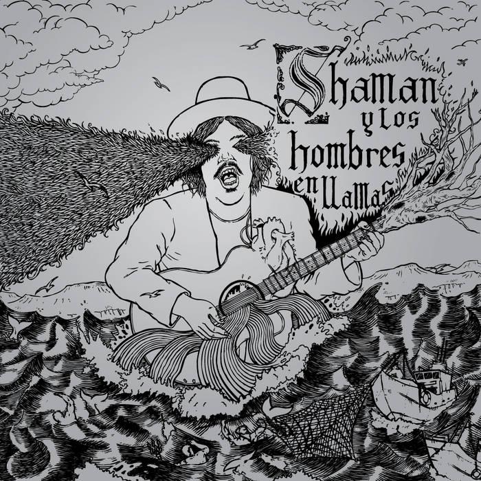 Shaman y los hombres en llamas cover art